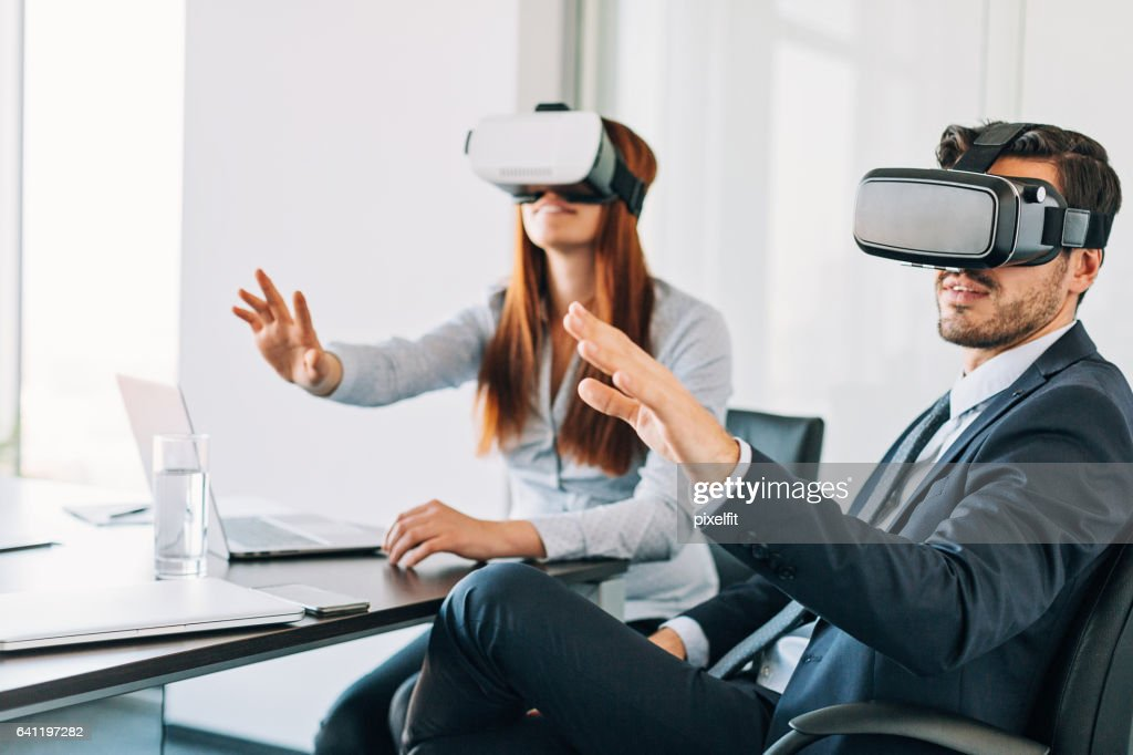 New technologies in the office : Stock Photo