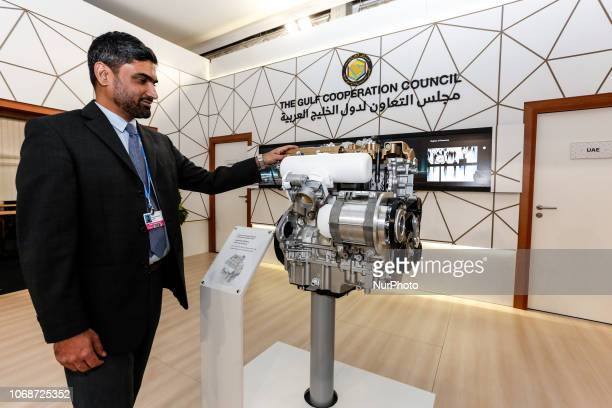New technologies presented by the Gulf Cooperation Council during the UN climate conference COP24 in Katowice Poland on the 4th of December 2018...