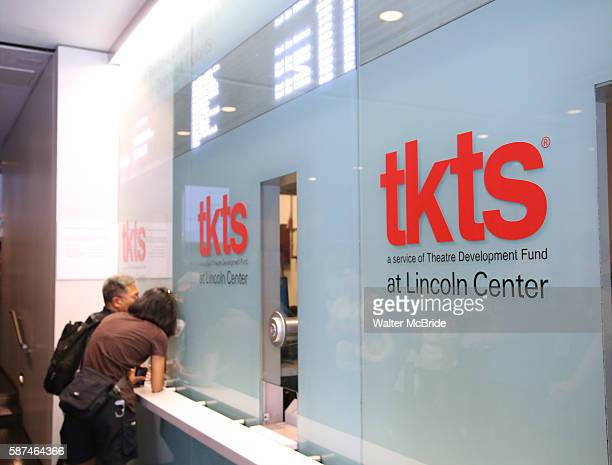 New tkts Lincoln Center Booth at the Donald and Barbara Zucker Box Office located in the David Rubenstein Atrium Broadway and West 62nd Street on...