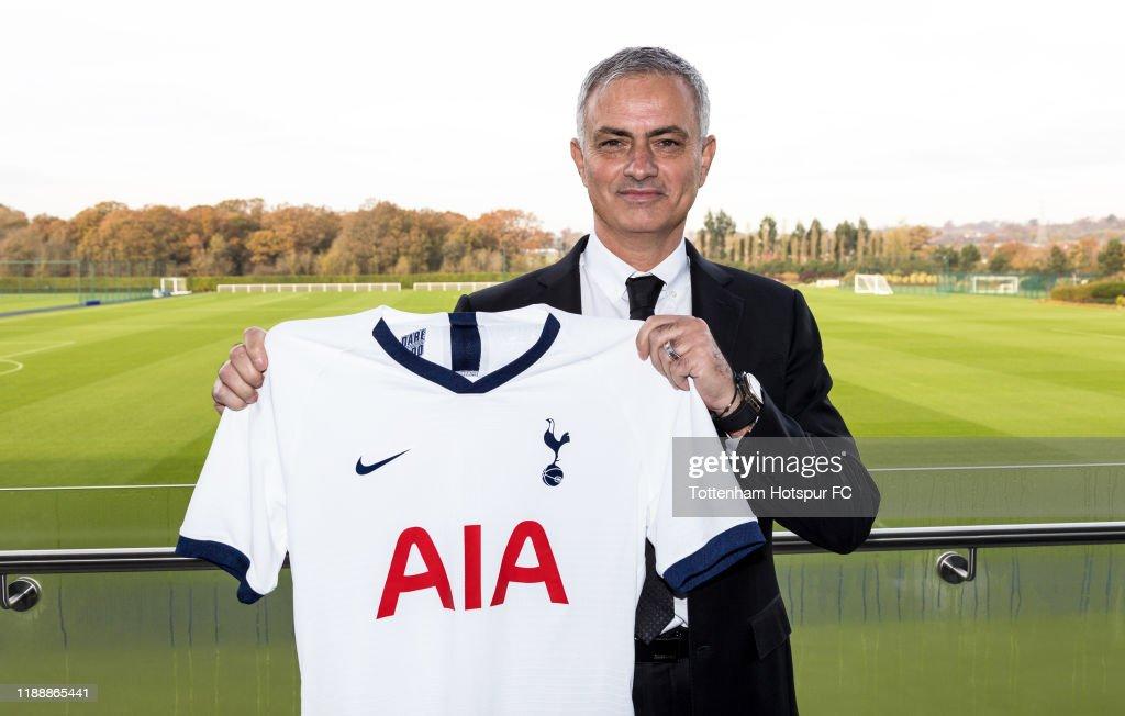 Tottenham Hotspur Unveil New Manager Jose Mourinho : News Photo