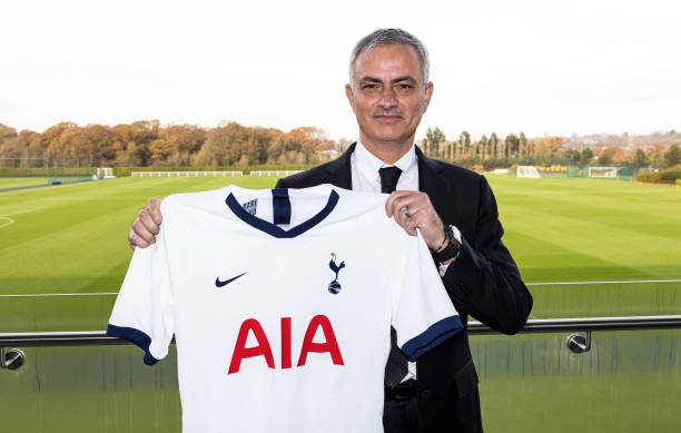GBR: Tottenham Hotspur Unveil New Manager Jose Mourinho