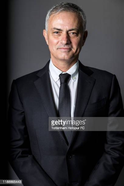 New Tottenham Hotspur manager Jose Mourinho is unveiled on November 20 2019 in Enfield England