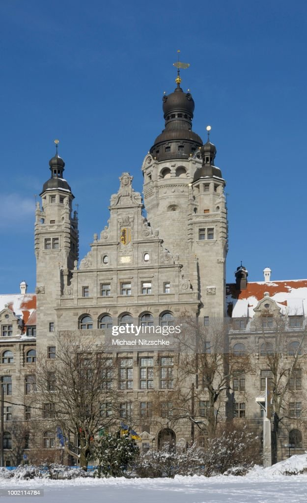 New Town Hall Leipzig Saxony Germany High Res Stock Photo Getty Images