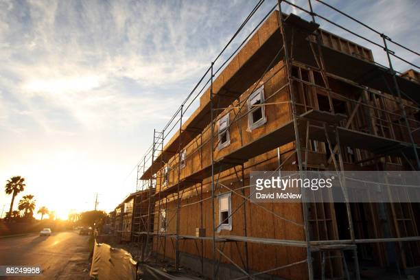 New townhouses are under construction March 3 2009 in Compton California The city that became known as the birthplace of gangsta rap and was once one...