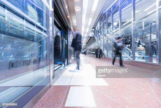 new train station stockholm city platform - subway station stock pictures, royalty-free photos & images