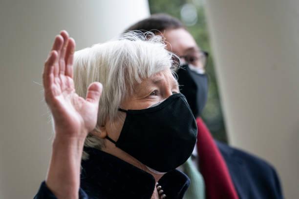 DC: Vice President Kamala Harris Ceremonially Swears In Janet Yellen As Treasury Secretary