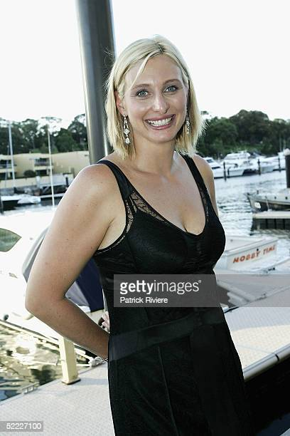 New TV host Johanna Griggs attend the launch of Better Home and Gardens 2005 TV show at Nove Cucina restaurant in Woolloomooloo February 22 2005 in...