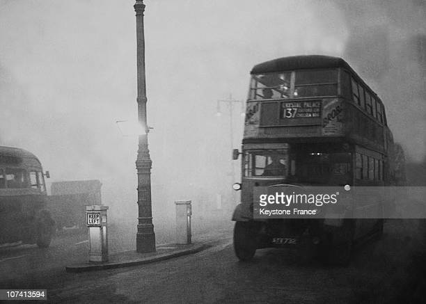 New Type Of Fog Beacon In London On November 15Th 1949