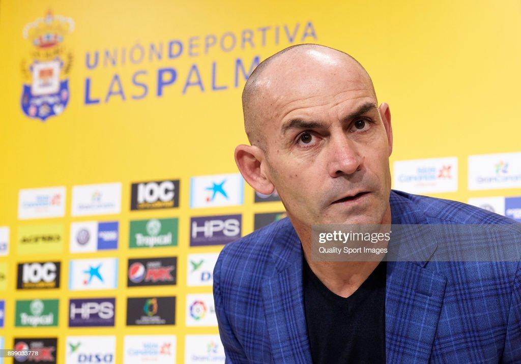 UD Las Palmas Unveil New Manager Paco Jemez