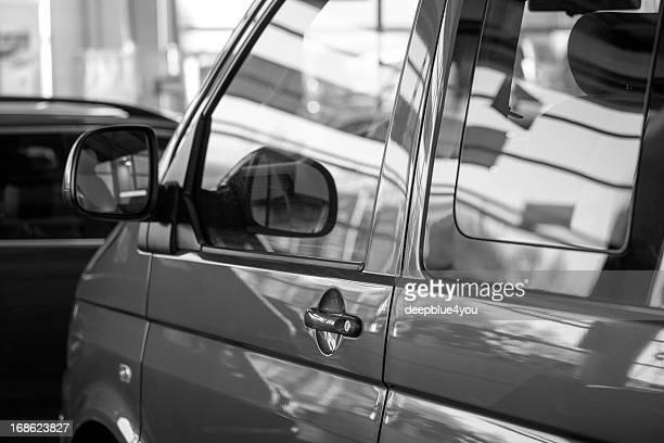 New van transporter in sales salon