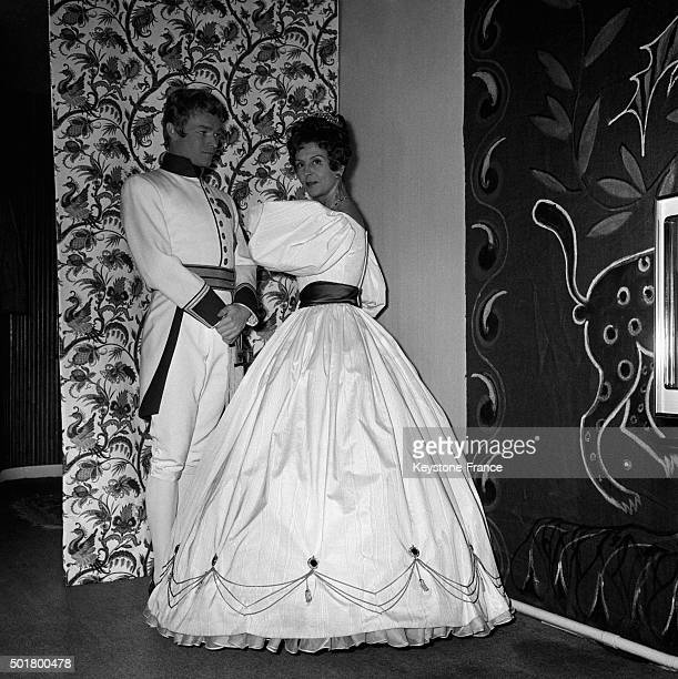 A new version of the play 'L'Aiglon' by Edmond Rostand with Pierre Vaneck who plays the duke of Reichstadt and Renée SaintCyr as the empress...