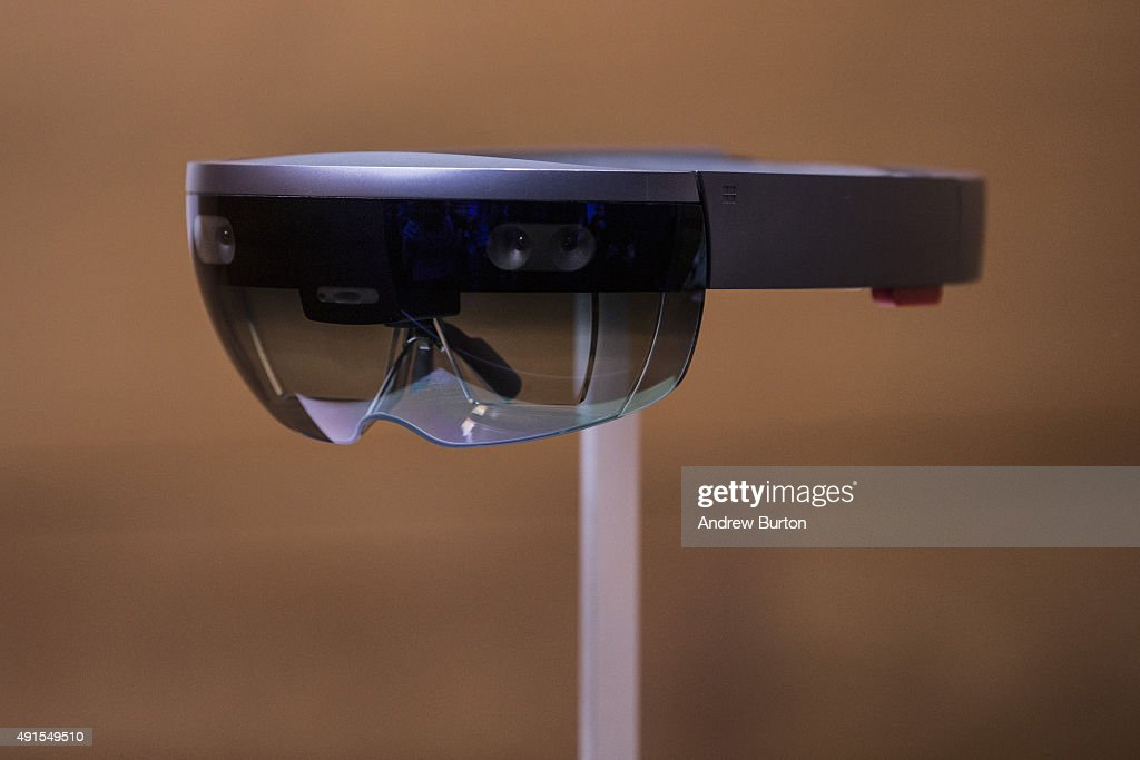 Microsoft Unveils New Devices Powered By Windows 10 : News Photo