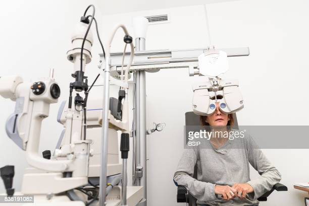 New Vision clinic main center for refractive surgery in France with cuttingedge technology for all eye laser operations Preop diagnosis carried out...
