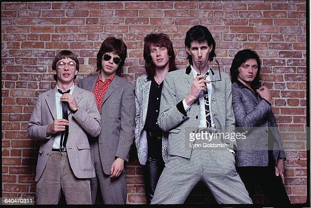 Greg Hawkes Elliot Easton David Robinson Ric Ocasek and Benjamin Orr