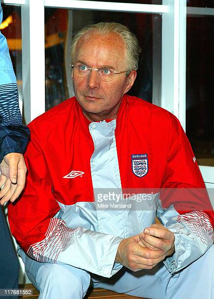 New wax figure of Sven Goran Eriksson England manager
