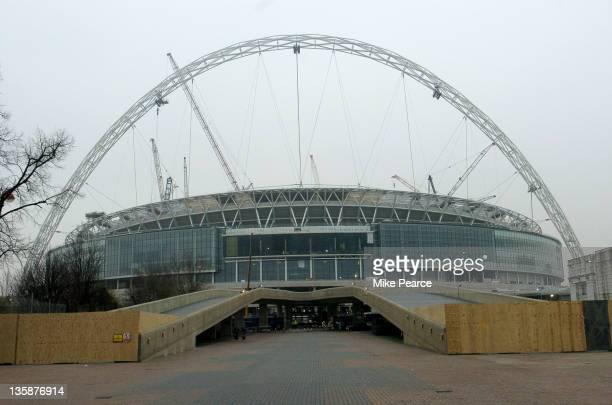 New Wembley Stadium Under Construction February 2 2006