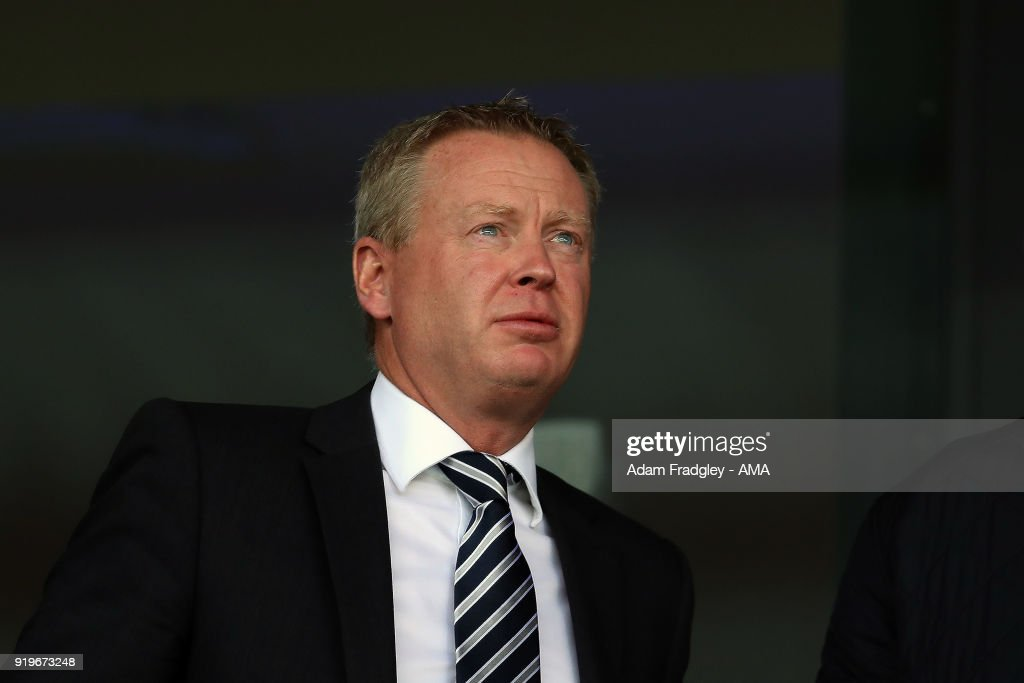 New West Bromwich Albion Chief Executive Mark Jenkins watches on during the Emirates FA Cup Fifth Round between West Bromwich Albion and Southampton at The Hawthorns on February 17, 2018 in West Bromwich, England.