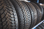 New winter tires for sale in store