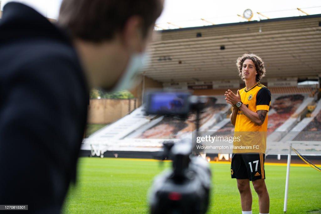 Wolverhampton Wanderers Unveil New Record Signing Fabio Silva : News Photo