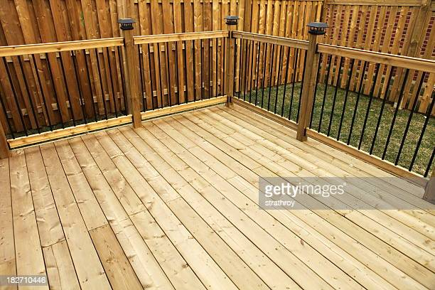 New Wooden Deck