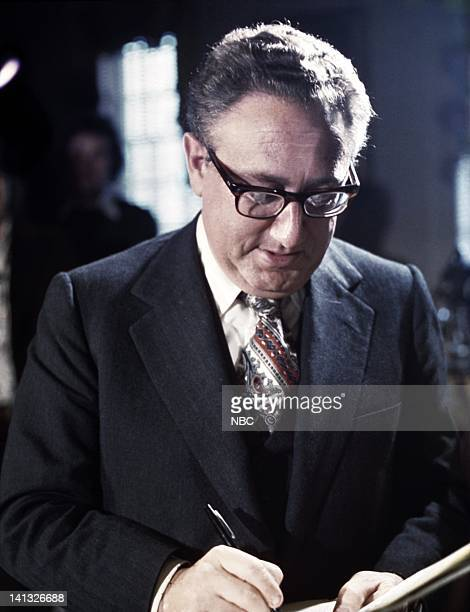 REPORTS New World Hard Choices American Foreign Policy 1976 Air Date Pictured US Secretary of State Henry Kissinger Photo by NBCU Photo Bank