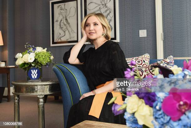 New WW ambassador Kate Hudson kicks off 2019 by talking wellness family and finding balance on January 10 2019 in New York City