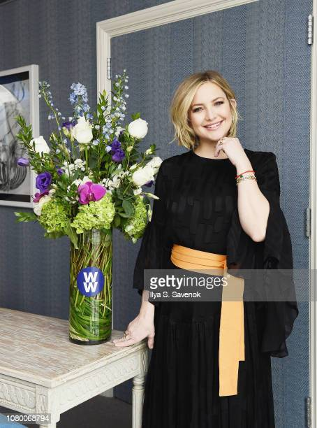 New WW ambassador Kate Hudson kicks off 2019 by talking wellness, family and finding balance on January 10, 2019 in New York City.