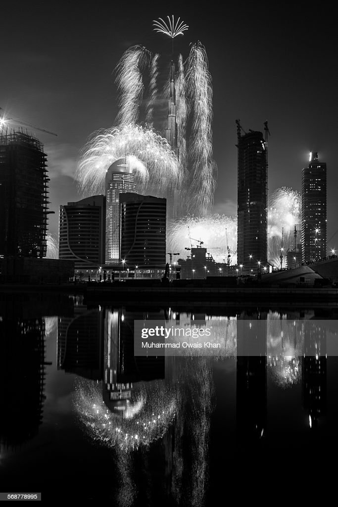 New Year 2015 Firework : Stock Photo