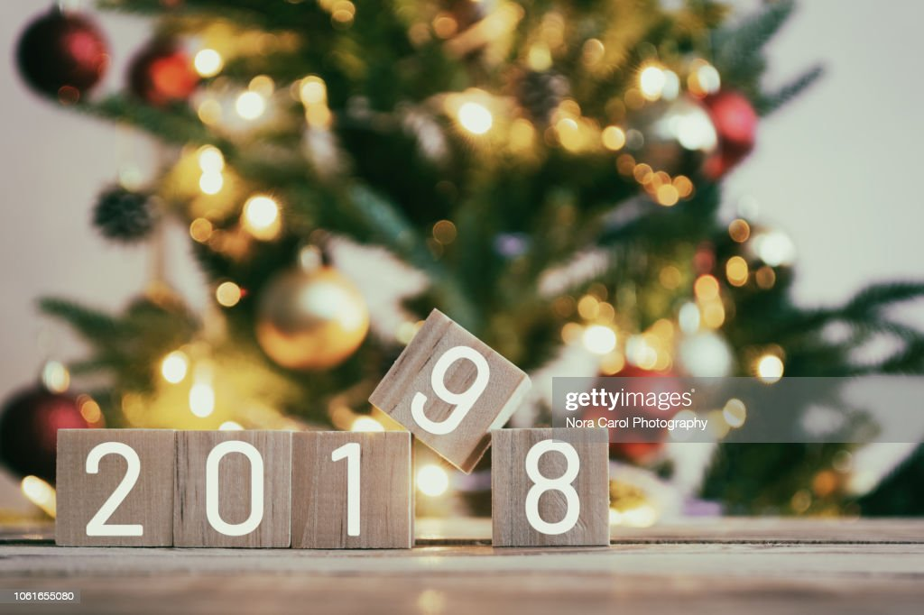 New Year 2019 Concept : Stock Photo