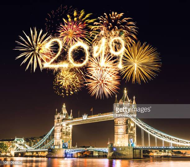 new year 2019 in london - 2019 stock pictures, royalty-free photos & images