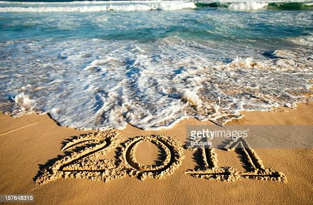 New Year Beach - 2011