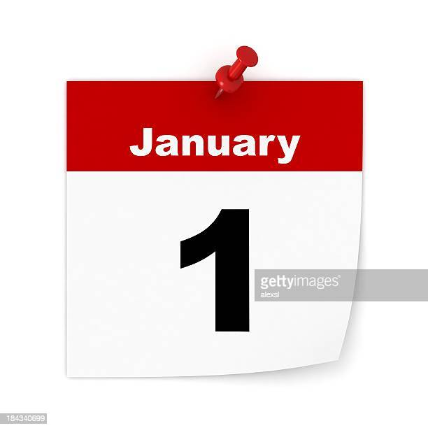 new year calendar - january stock pictures, royalty-free photos & images