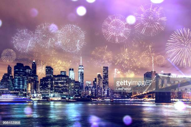 New Year Celebrations in New York City