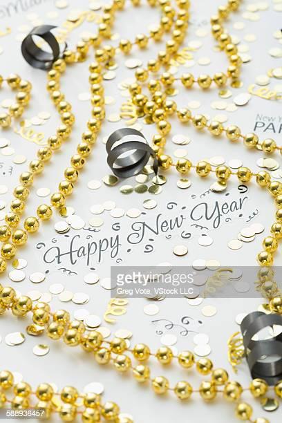 New year eve decoration