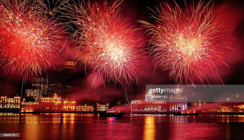 New year festival : Stock Photo