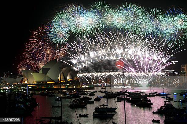 New Year Fireworks, Sydney