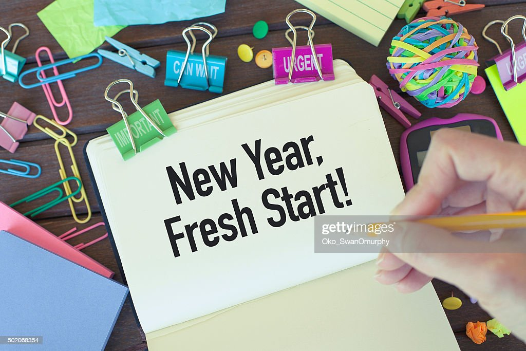 New Year Fresh Start