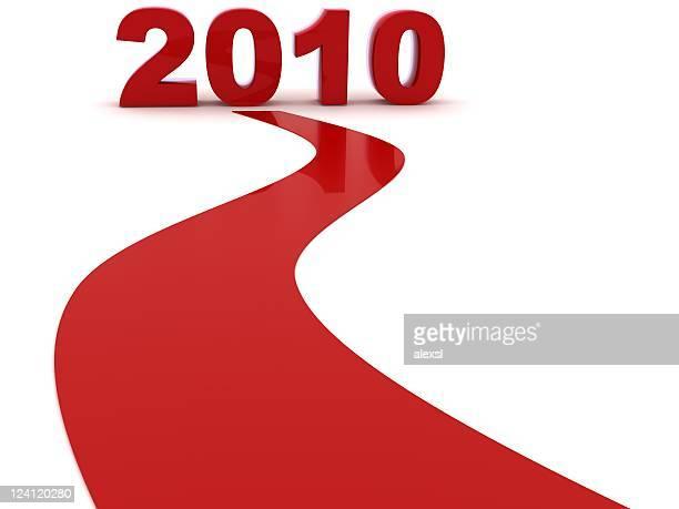 新しい年が来 - 2010年 ストックフォトと画像