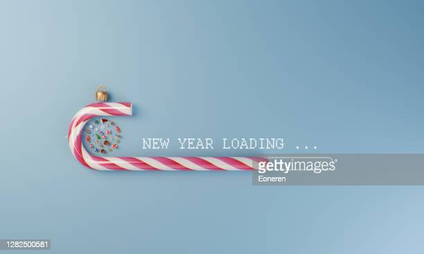 new year loading - new year's eve stock pictures, royalty-free photos & images