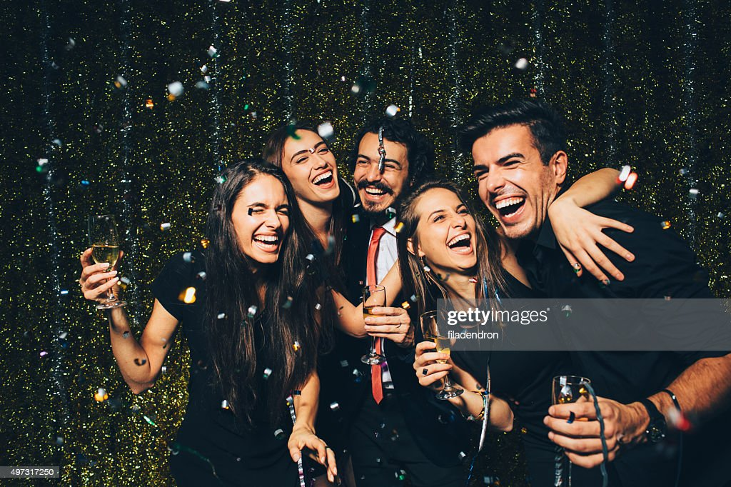 New year party : Stock Photo
