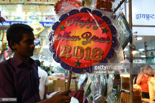 New Year shopping at APMC Market Vashi on december 30 2017 in Navi Mumbai India