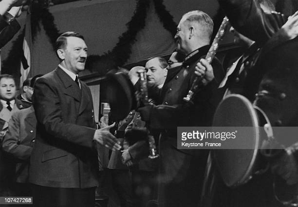 New Year Wishes From The Fuhrer To His Officers In BerlinGermany On January 31St 1941