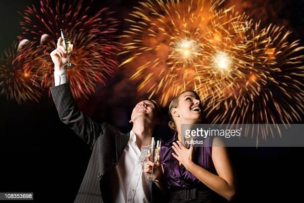 Casal do ano novo