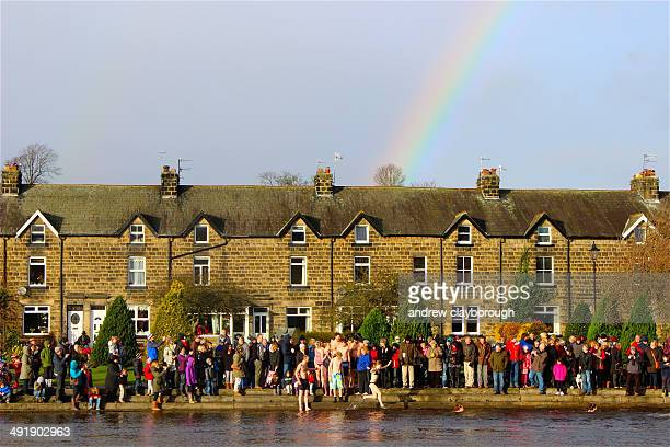 New Years Day Dip with Rainbow River Warfe Otley