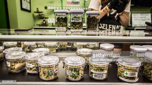 New Year's Day is the first day of the legalization of recreational marijuana sales in California Cathedral City Collective Care in Riverside County...