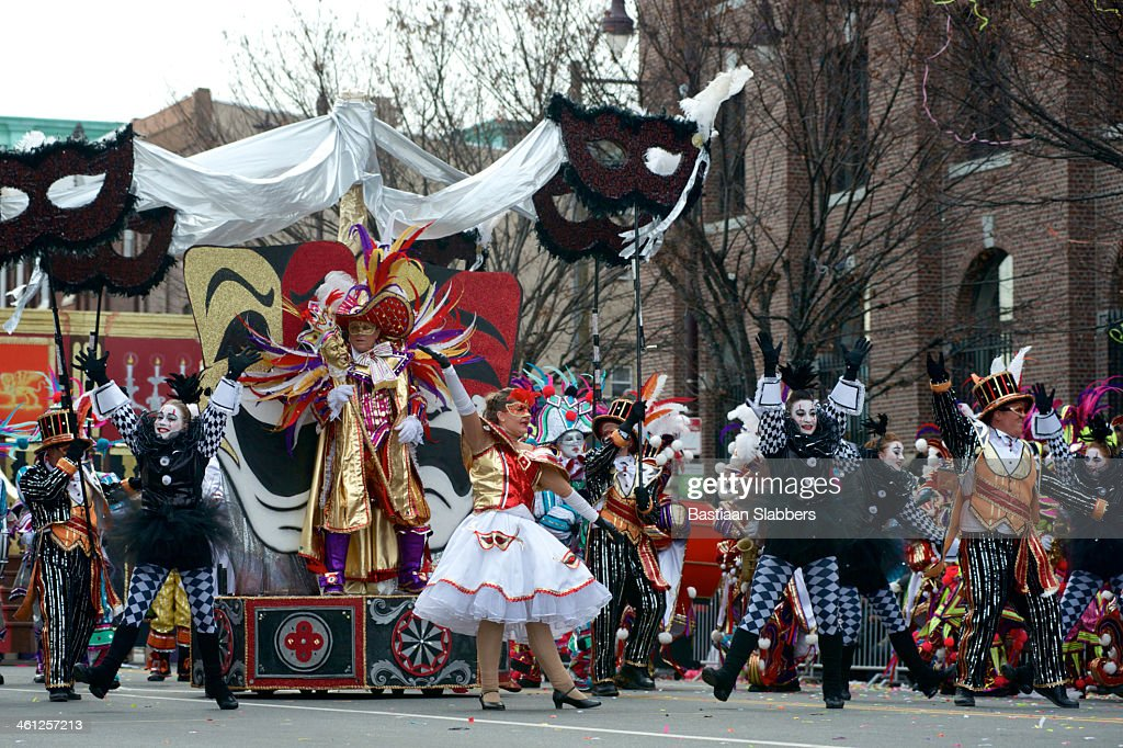 New Years Day Parade in Philadelphia, PA : Stock Photo