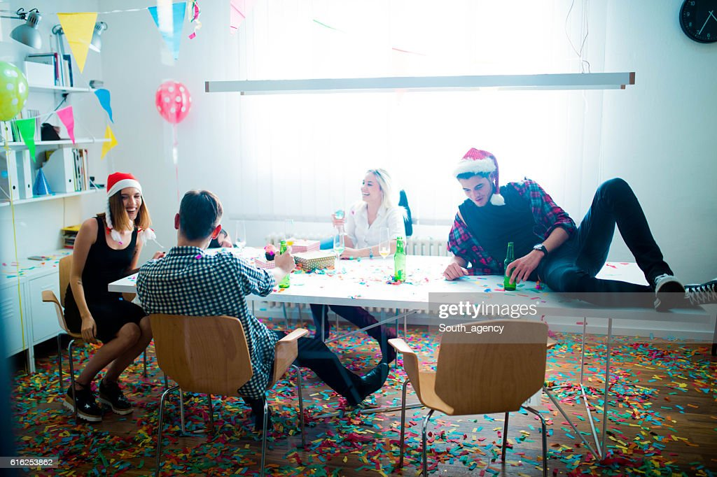 New year's day party : Stock Photo