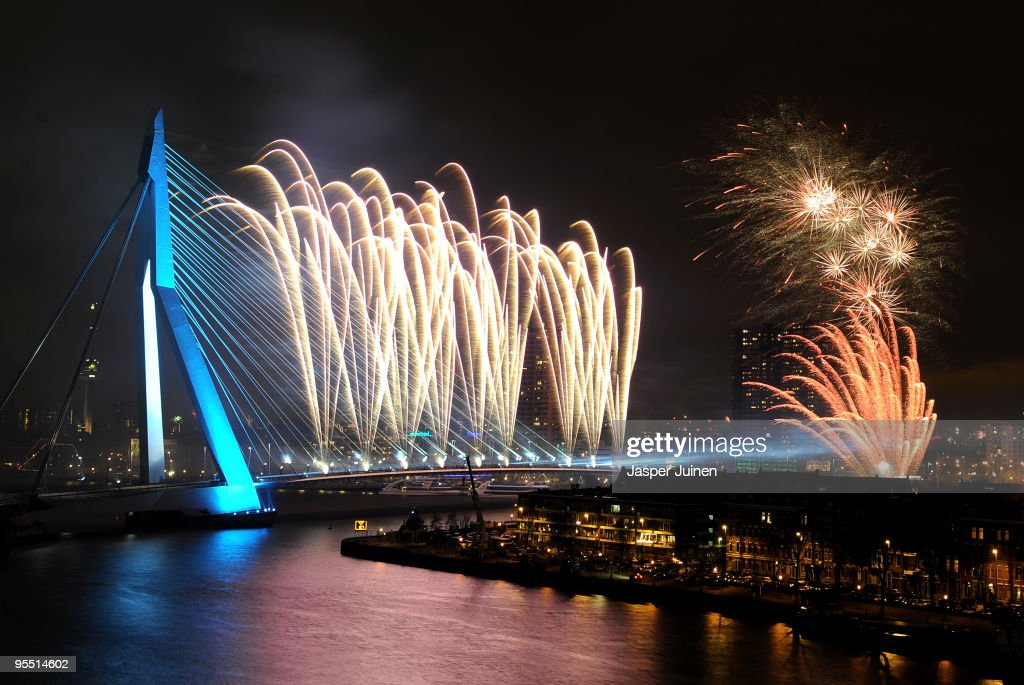The New Year Is Celebrated Around The World : News Photo