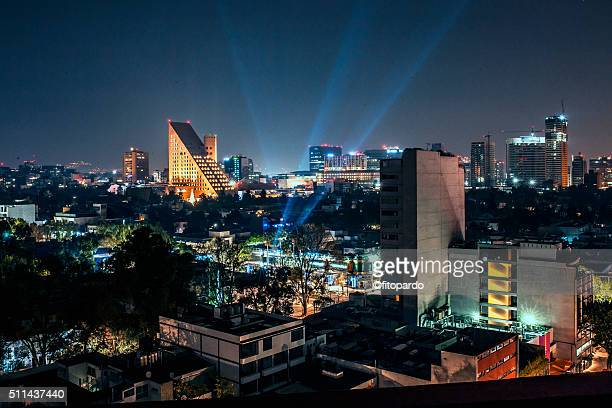 New years eve from Polanco in Mexico City 2016