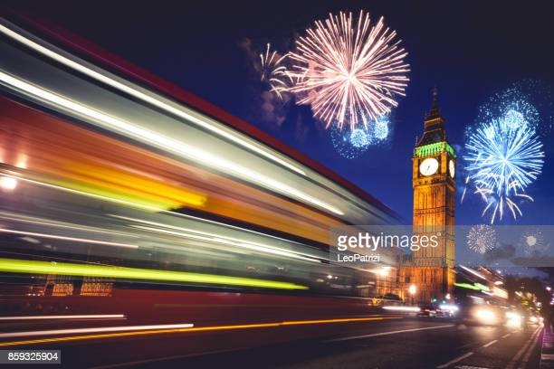 New Years Eve in London - Celebrations and fireworks